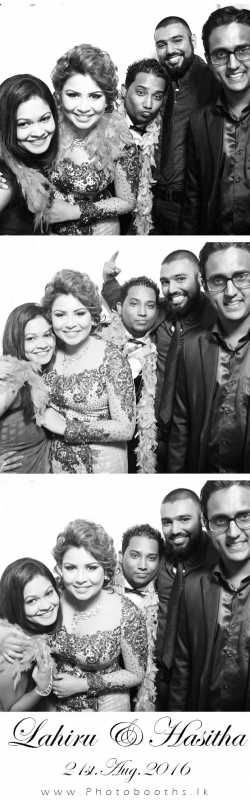 Lahiru & Hasitha Wedding photobooth Pictures
